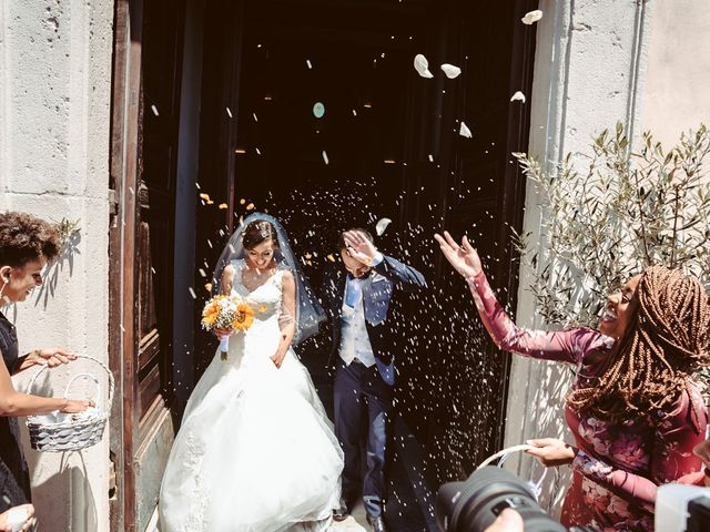 Il matrimonio di Antonio e Elizabete a Bracciano, Roma 7