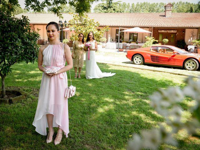 Il matrimonio di Sergio e Cristina a Scaldasole, Pavia 15