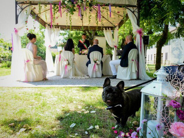 Il matrimonio di Sergio e Cristina a Scaldasole, Pavia 20
