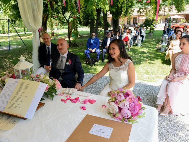 Il matrimonio di Sergio e Cristina a Scaldasole, Pavia 21