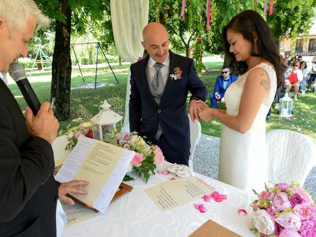 Il matrimonio di Sergio e Cristina a Scaldasole, Pavia 24