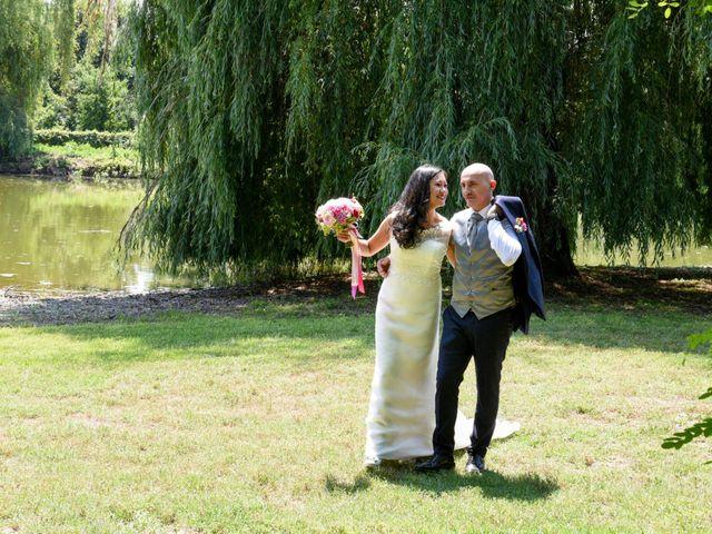 Il matrimonio di Sergio e Cristina a Scaldasole, Pavia 36
