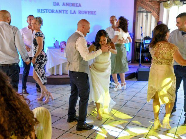 Il matrimonio di Sergio e Cristina a Scaldasole, Pavia 44