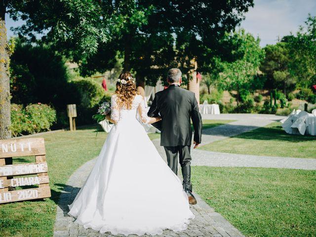 Il matrimonio di Tommaso e Chiara a Montaione, Firenze 20