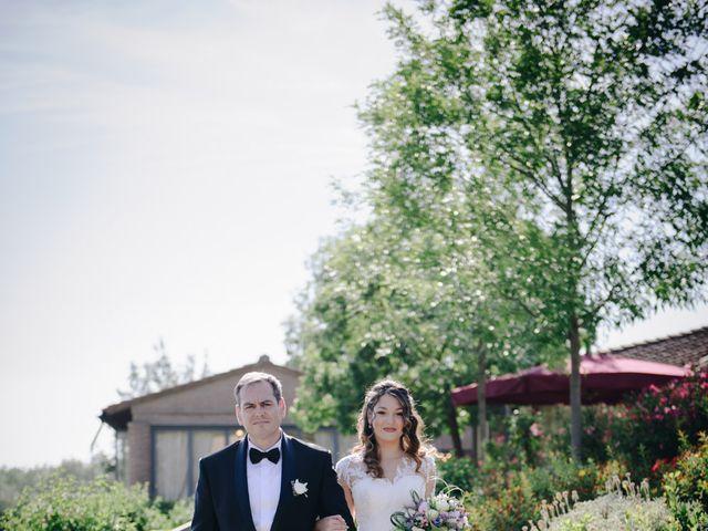 Il matrimonio di Tommaso e Chiara a Montaione, Firenze 21