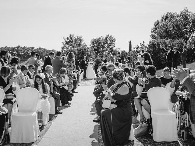 Il matrimonio di Tommaso e Chiara a Montaione, Firenze 22