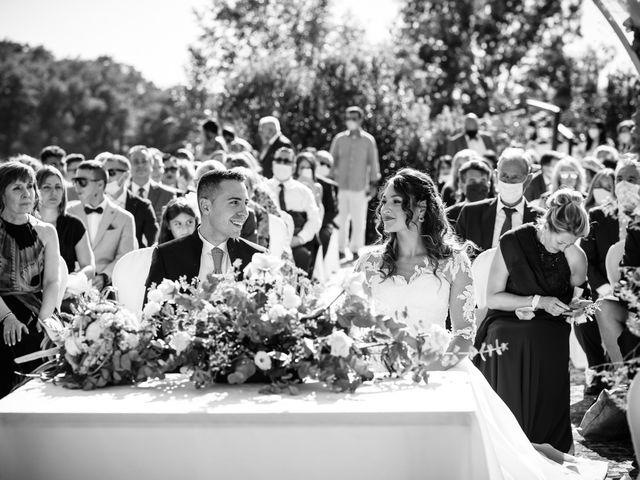 Il matrimonio di Tommaso e Chiara a Montaione, Firenze 25