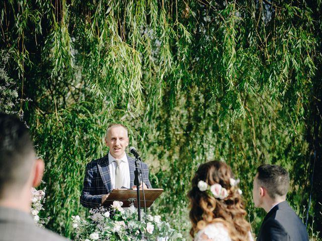 Il matrimonio di Tommaso e Chiara a Montaione, Firenze 26