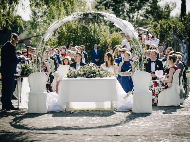 Il matrimonio di Tommaso e Chiara a Montaione, Firenze 27