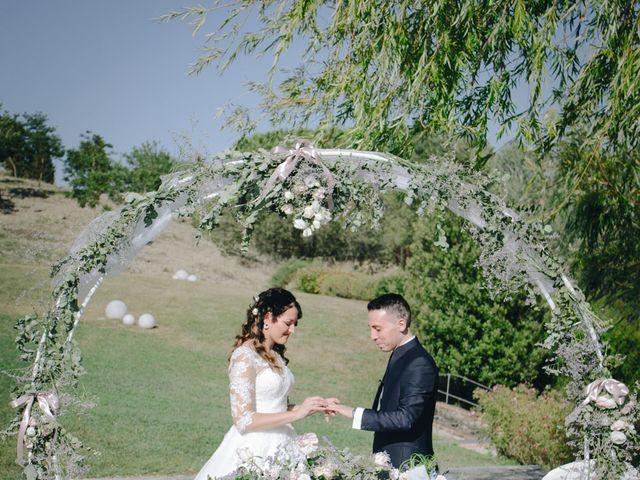 Il matrimonio di Tommaso e Chiara a Montaione, Firenze 33