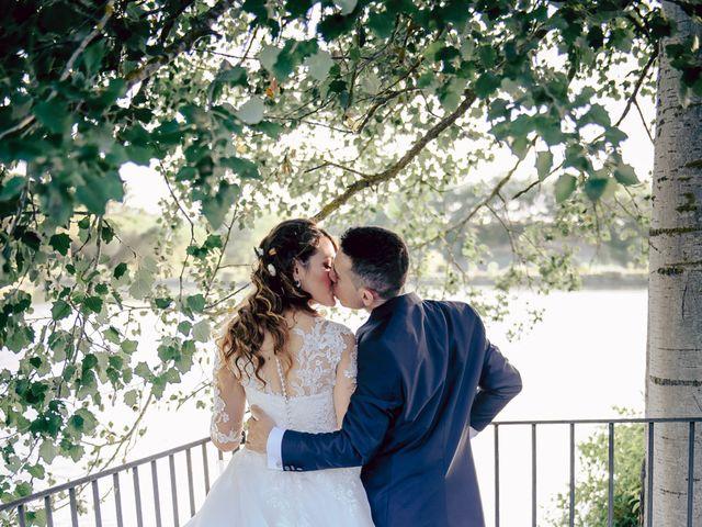 Il matrimonio di Tommaso e Chiara a Montaione, Firenze 38