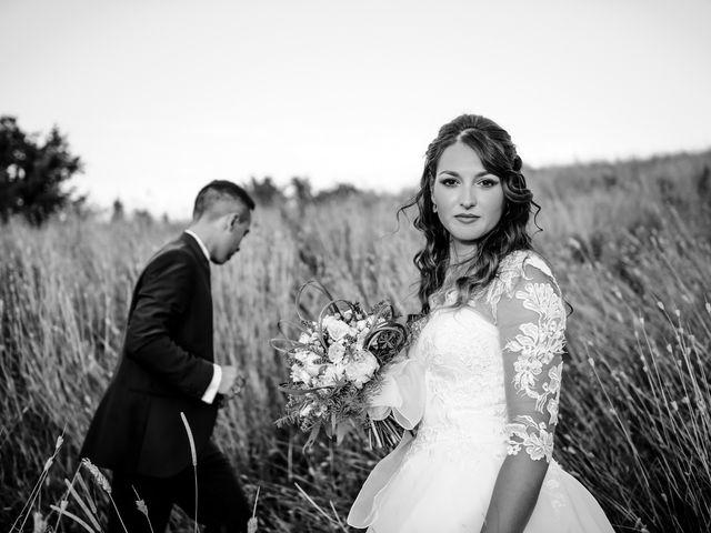 Il matrimonio di Tommaso e Chiara a Montaione, Firenze 50