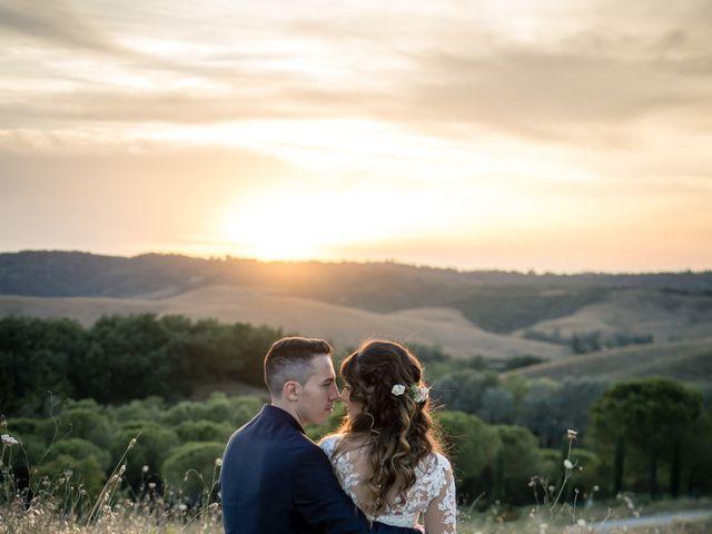 Il matrimonio di Tommaso e Chiara a Montaione, Firenze 55