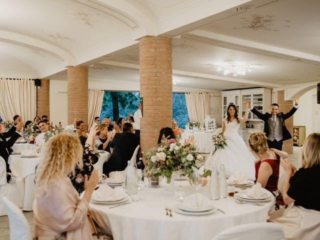 Il matrimonio di Tommaso e Chiara a Montaione, Firenze 57