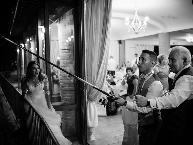 Il matrimonio di Tommaso e Chiara a Montaione, Firenze 59