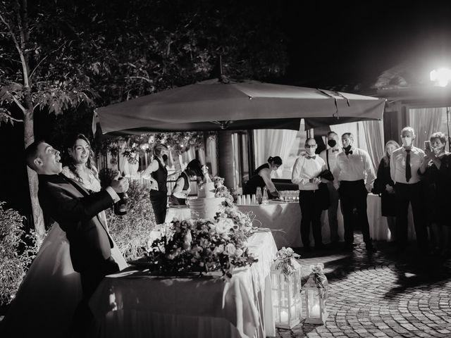 Il matrimonio di Tommaso e Chiara a Montaione, Firenze 64