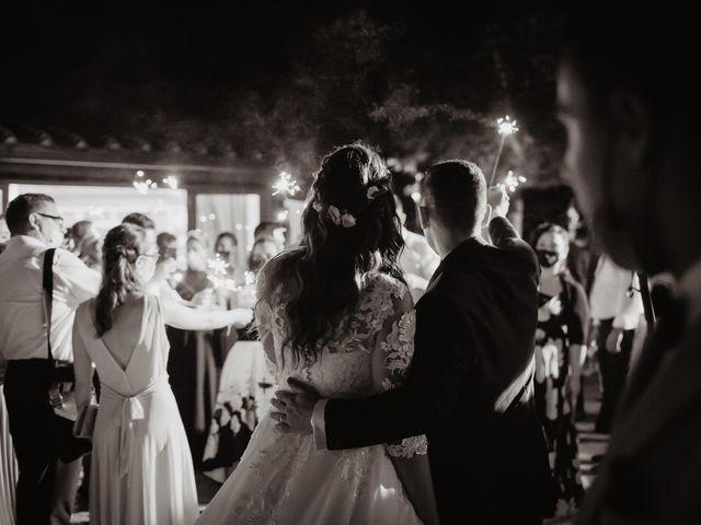 Il matrimonio di Tommaso e Chiara a Montaione, Firenze 65