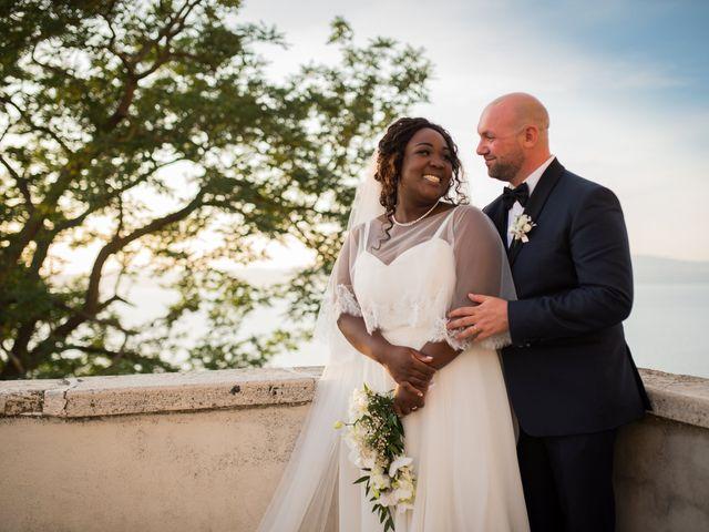 Le nozze di Lady Ellen e Carlo Alberto