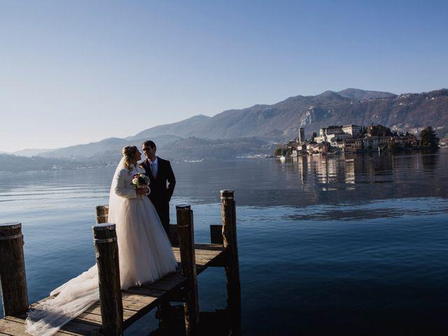 Il matrimonio di Matteo e Francesca a Orta San Giulio, Novara 9