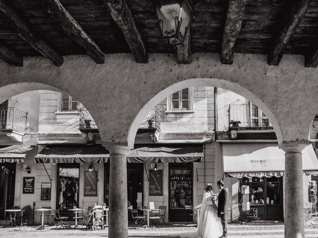 Il matrimonio di Matteo e Francesca a Orta San Giulio, Novara 11