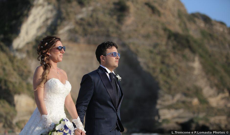 Il matrimonio di Francesco e Francesca a Pozzuoli, Napoli