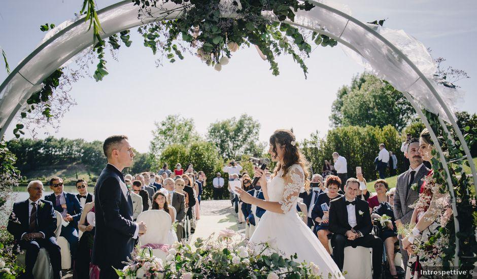 Il matrimonio di Tommaso e Chiara a Montaione, Firenze
