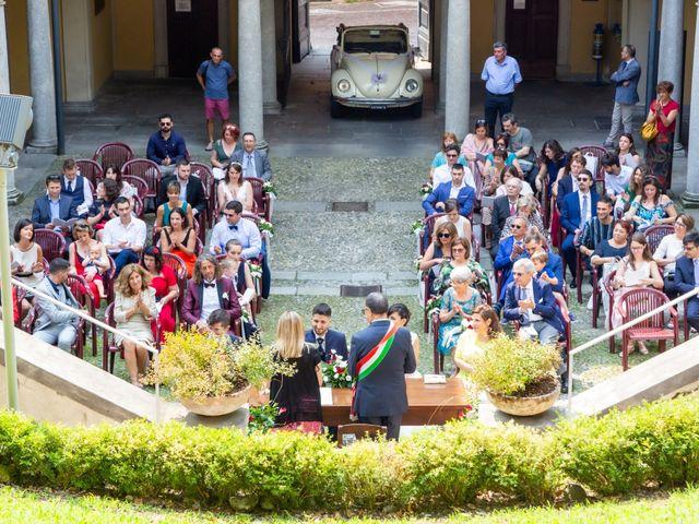 Il matrimonio di Julien e Irene a Malgrate, Lecco 14