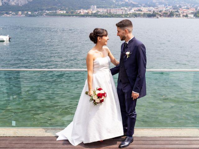 Il matrimonio di Julien e Irene a Malgrate, Lecco 25