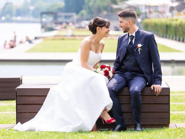 Il matrimonio di Julien e Irene a Malgrate, Lecco 28
