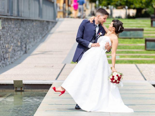 Il matrimonio di Julien e Irene a Malgrate, Lecco 30
