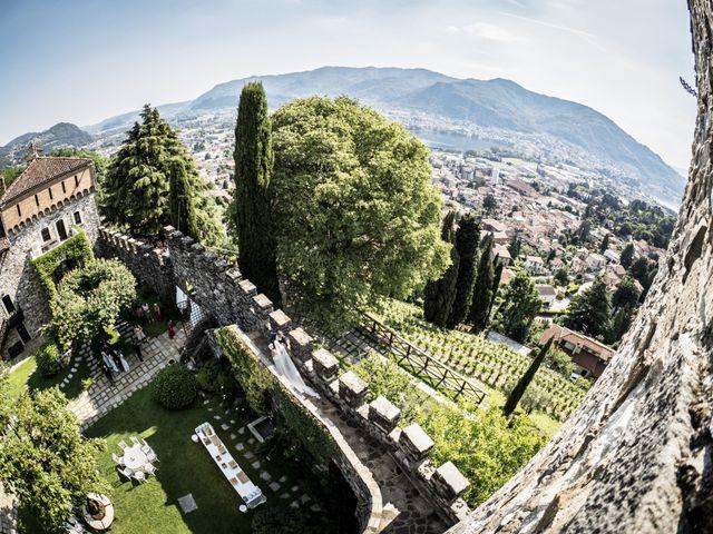 Il matrimonio di Andrea e Asmae a Lecco, Lecco 25