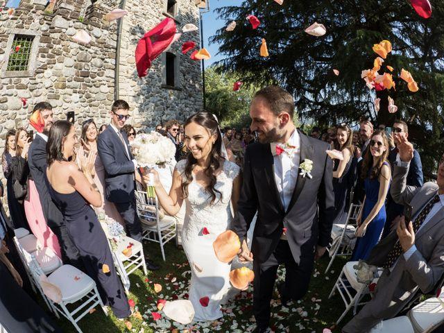 Il matrimonio di Andrea e Asmae a Lecco, Lecco 50
