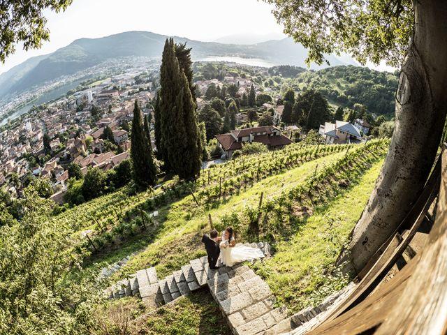 Il matrimonio di Andrea e Asmae a Lecco, Lecco 57