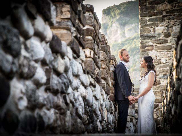 Il matrimonio di Andrea e Asmae a Lecco, Lecco 61