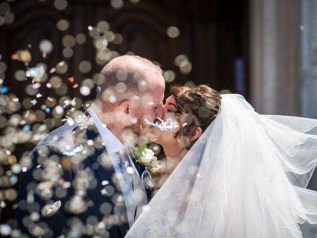 Il matrimonio di Davide e Cinzia a Cinisello Balsamo, Milano 1
