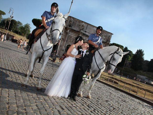 Il matrimonio di Giuseppe e Loredana a Roma, Roma 2