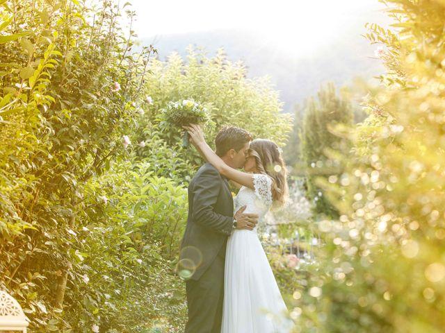 Il matrimonio di Emanuele e Mabel a Corte Franca, Brescia 1