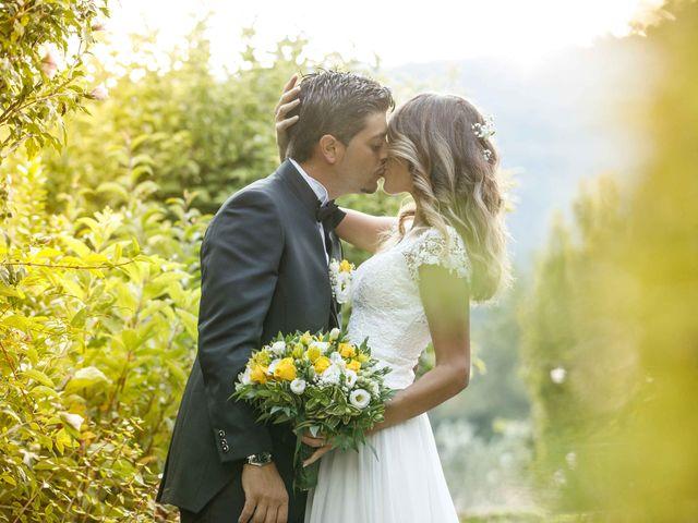 Il matrimonio di Emanuele e Mabel a Corte Franca, Brescia 2