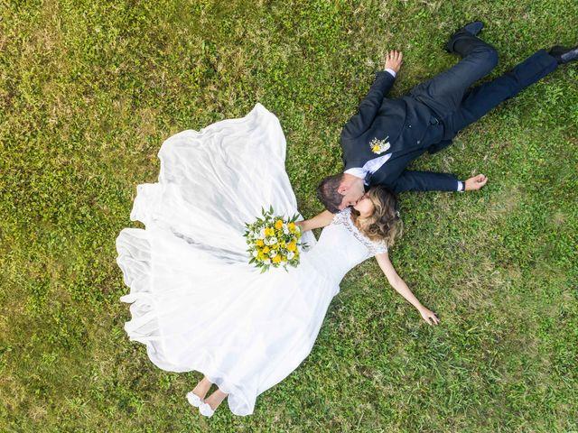 Il matrimonio di Emanuele e Mabel a Corte Franca, Brescia 4