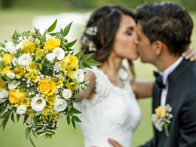 Il matrimonio di Emanuele e Mabel a Corte Franca, Brescia 10