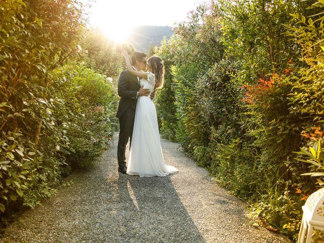 Il matrimonio di Emanuele e Mabel a Corte Franca, Brescia 11