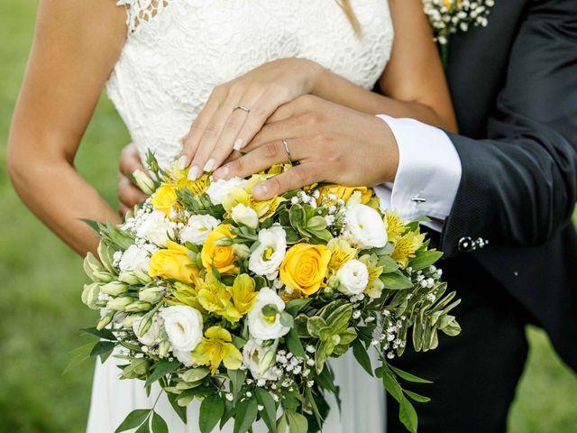 Il matrimonio di Emanuele e Mabel a Corte Franca, Brescia 13