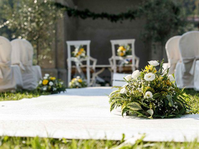 Il matrimonio di Emanuele e Mabel a Corte Franca, Brescia 60