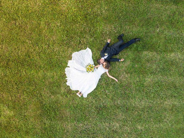 Il matrimonio di Emanuele e Mabel a Corte Franca, Brescia 127