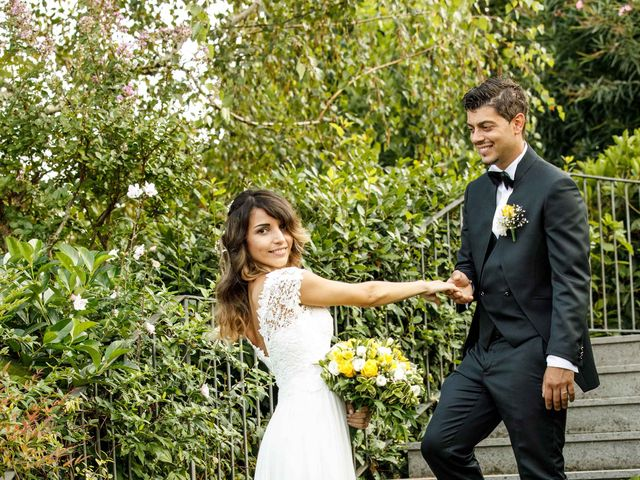 Il matrimonio di Emanuele e Mabel a Corte Franca, Brescia 141