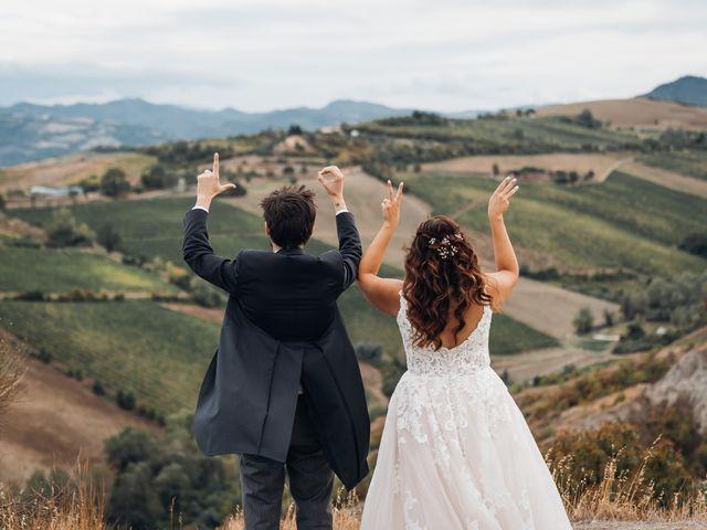 Il matrimonio di Dario e Erica a Brisighella, Ravenna 41