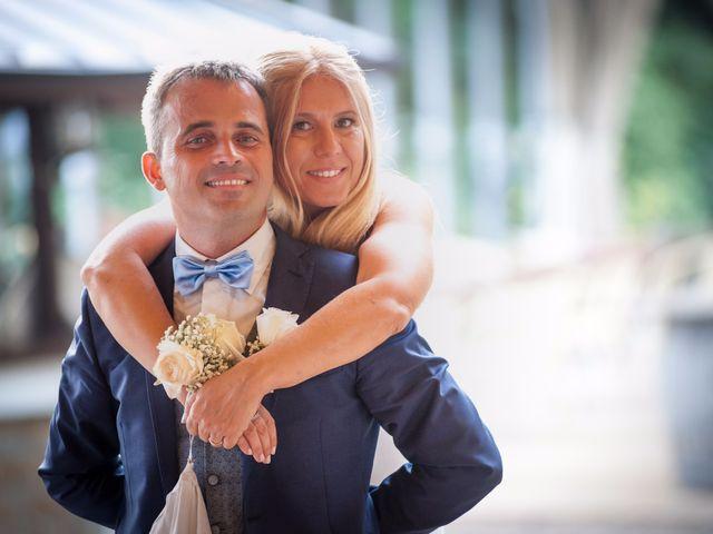 le nozze di Monica e Alessio