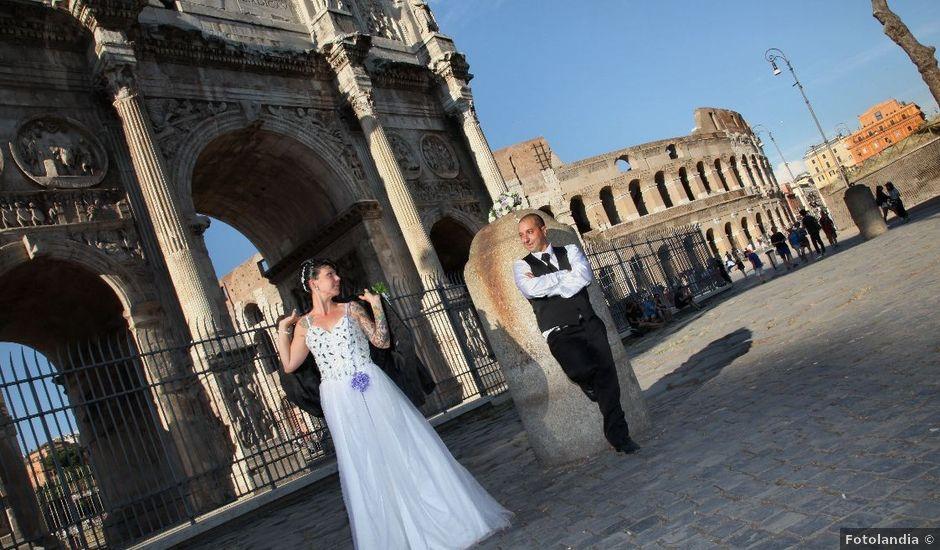 Il matrimonio di Giuseppe e Loredana a Roma, Roma