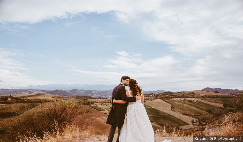 Il matrimonio di Dario e Erica a Brisighella, Ravenna