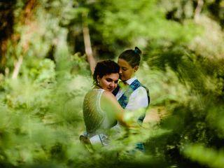 Le nozze di Claudia e Tania